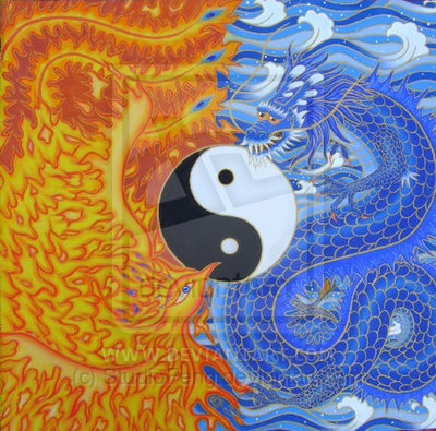 Image detail for -If you follow Korean mythology the Dragon subdued the Phoenix and the ...