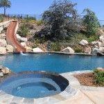 Slides for Backyard Pools