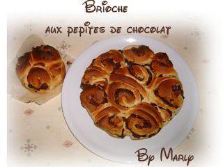 Brioche (extra moelleuse) aux pépites de chocolat - Recette Ptitchef