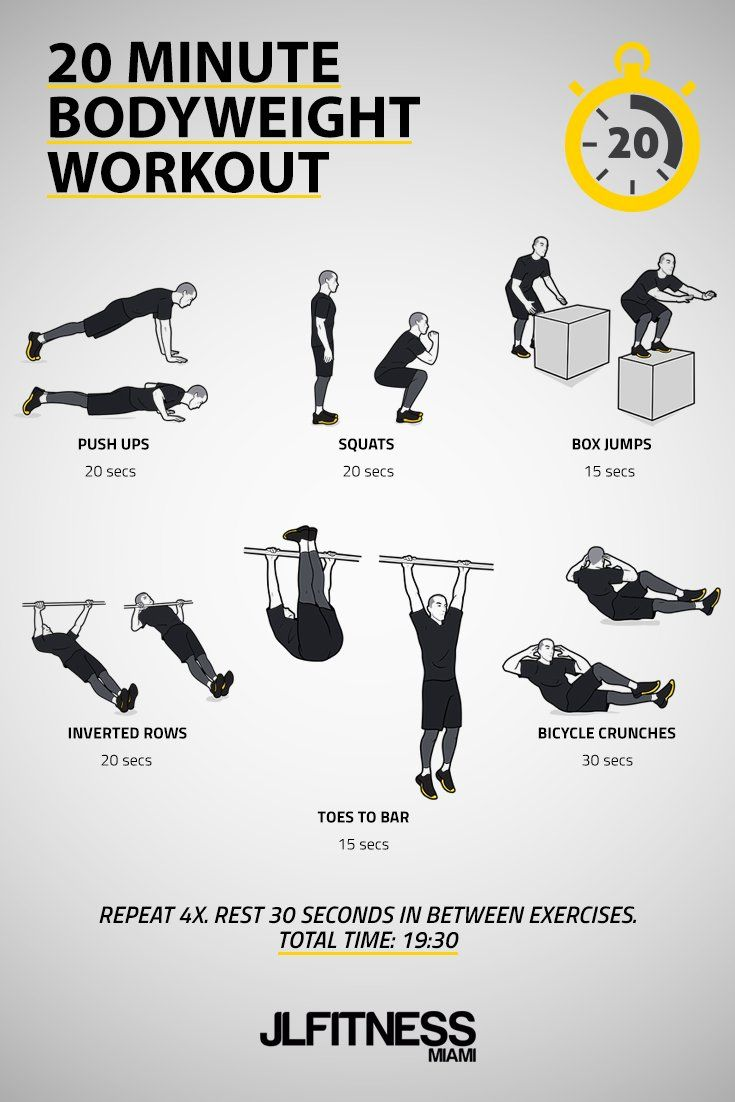 20 Minute Time Based Bodyweight Workout Jlfitnessmiami Bodyweight Workout Calisthenics Workout Routine Strength And Conditioning Workouts