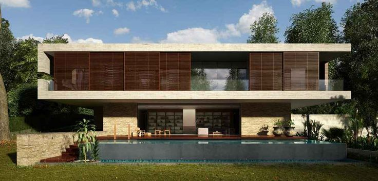Il Feng Shui nell'architettura moderna - La casa JKC1 a Singapore L'uso generoso dello spazio, la luminosità e la sensazione di equilibrio è ciò che distingue questa casa dalle altre, rendendola una vera e propria eccezione all'alta densità urbana che contraddistin #acqua #fengshui #luminosità #terra