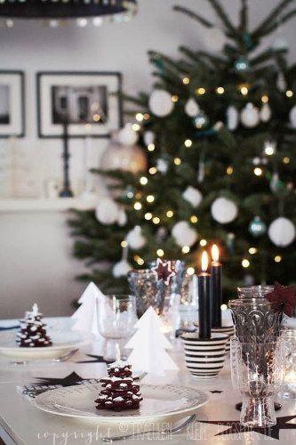 décoration de noël nouvelle scandinave | Inspiration déco pour Noël : tendance Scandinave