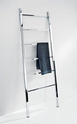 Ladder towel rack / multiple / floor-standing / chrome HTL 60 Decor-Walther Einrichtungs