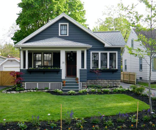 25 best ideas about bungalow porch on pinterest bungalow exterior craftsman bungalow - Cool house for sale paint ...