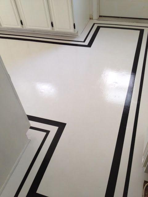 Painted floor                                                                                                                                                                                 More