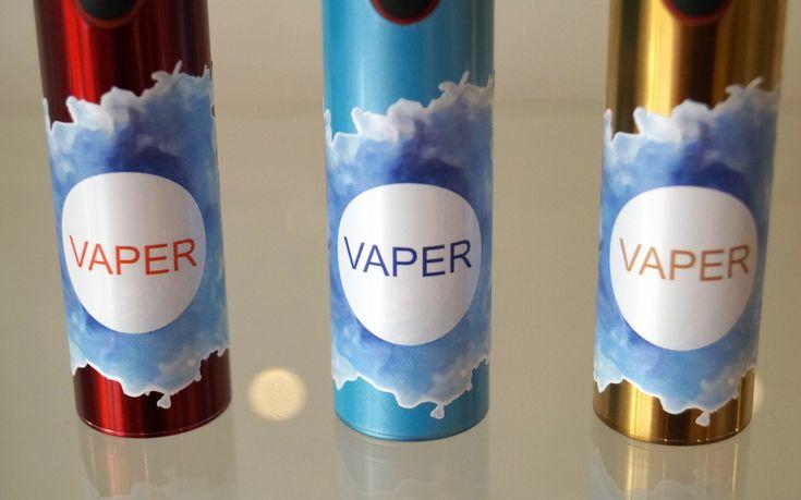 naklejki na baterię e-papierosa vaper