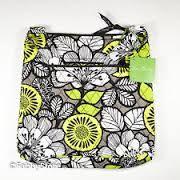 Vera Bradley Hipster purse in Citron