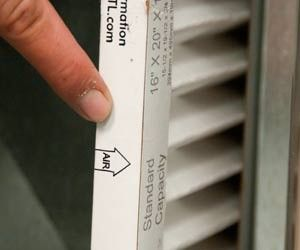 air conditioning filters. how to change an air filter | conditioner filters - repair.com #summer conditioning