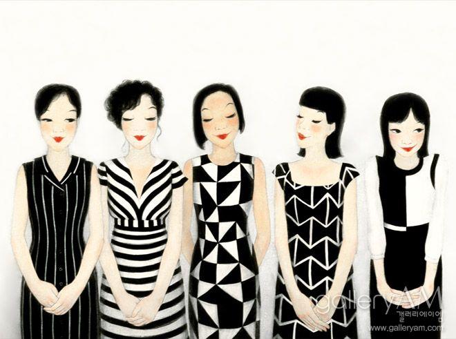 Love Youk Shim-won's illustrations