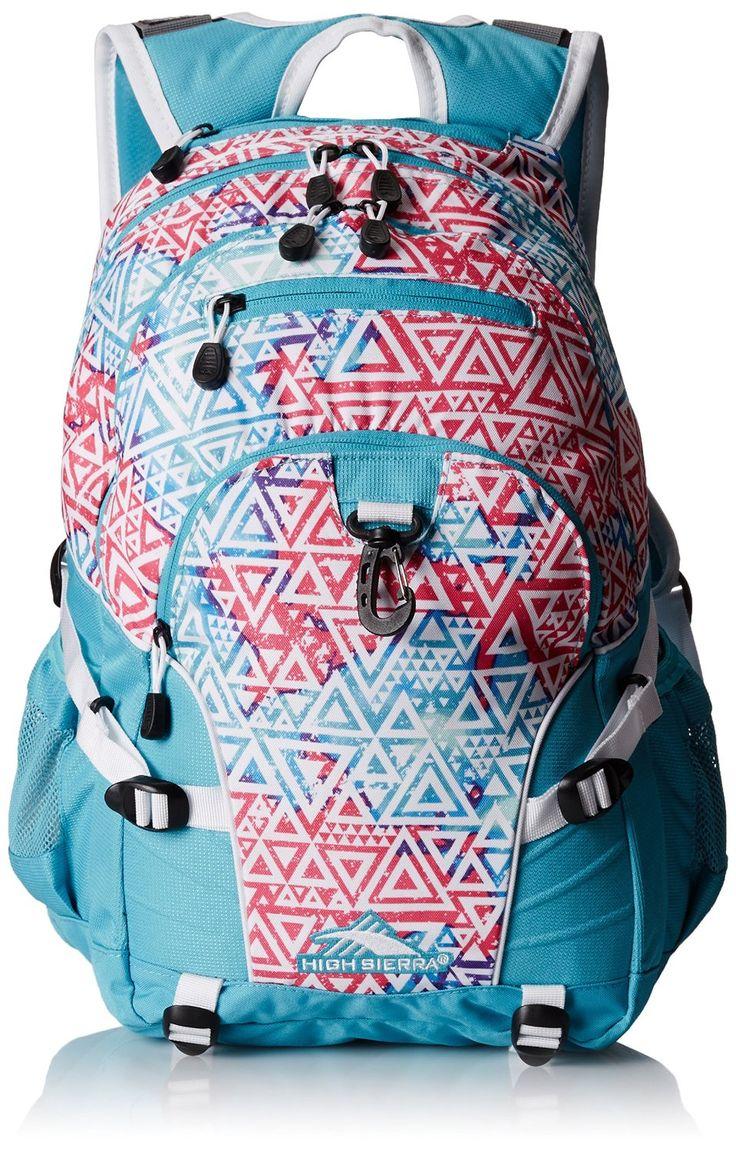 Amazon Com High Sierra Loop Backpack Aloha Black Deep