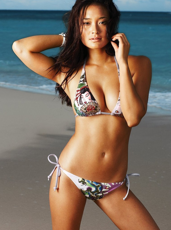 Jarah Mariano was born in Hawaii and since moving to California when she was young, shes appeared in Sports Illustrated Swimsuit Edition as well as Jay Zs music video for Show Me What You Got and NBCs Chuck