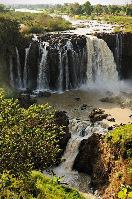 Blue Nile falls - Ethiopia I love this place! Except every time I go they are brown :P Love em anyways