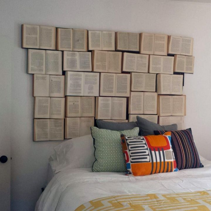 What The Heck Books As A Headboard Mindblown This Is
