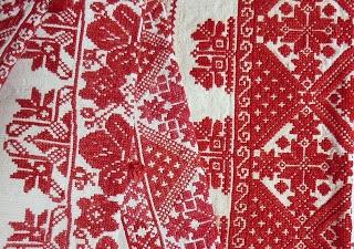 Cross stitch from Transylvania