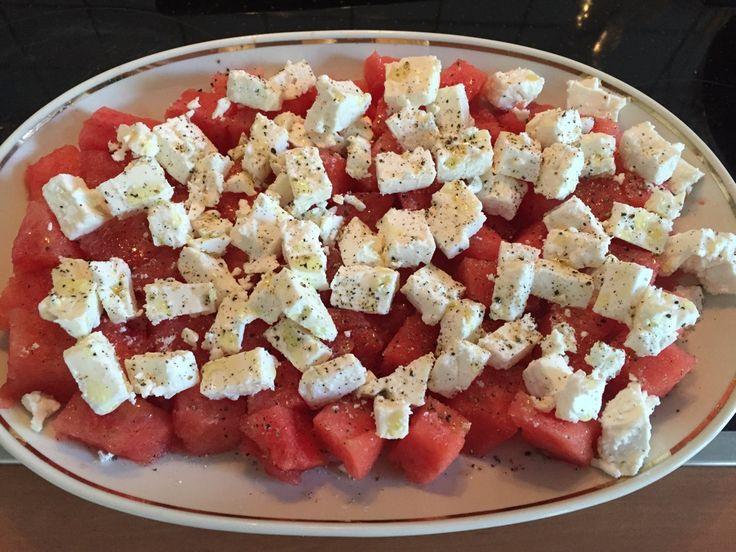 Salate zum grillen mit feta
