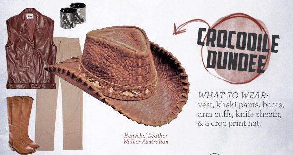 crocodile dundi costume | Crocodile Dundee costume ideas