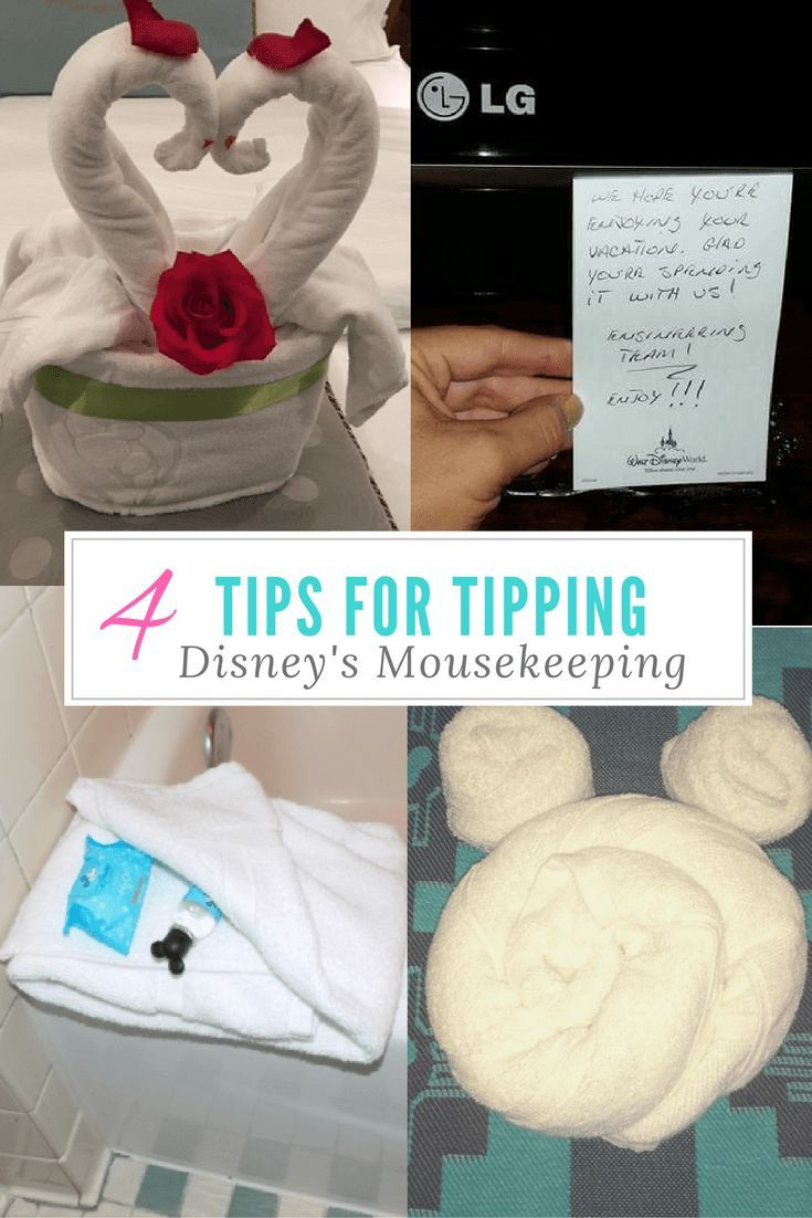 4 Tips for Tipping Disney's Mousekeeping