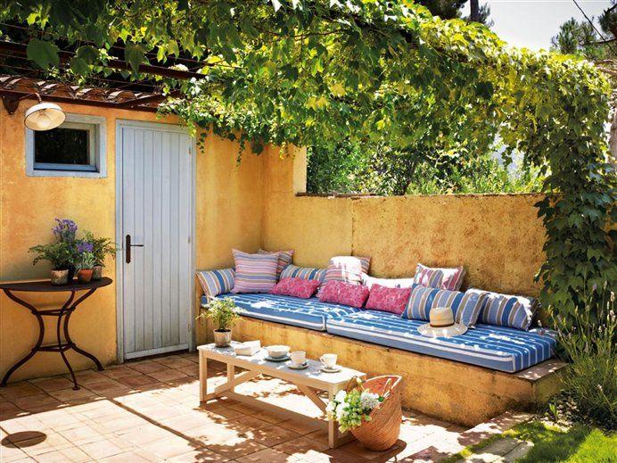 beautiful patio in Spain