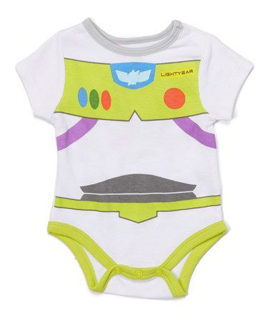 Loving this White & Green Buzz Lightyear Bodysuit - Infant on #zulily! #zulilyfinds