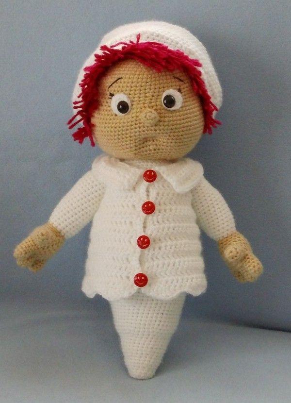 43 best gehäkelte Puppen, crocheted dolls images on Pinterest ...