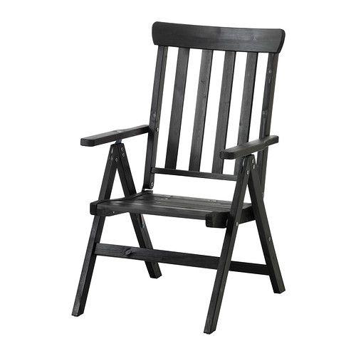 ÄNGSÖ Sill reclin ext IKEA El respaldo se puede regular en 6 posiciones diferentes. Es fácil de plegar para guardarla.