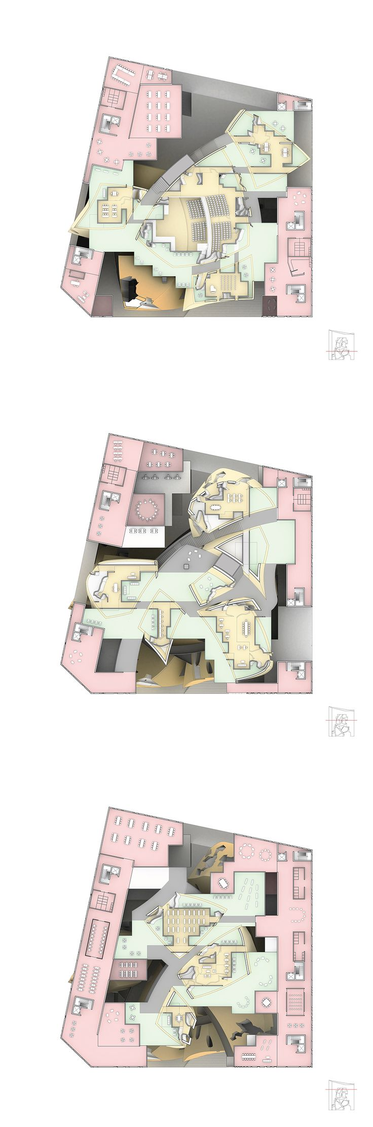 Double Negative Architecture Visualization Los Angeles California