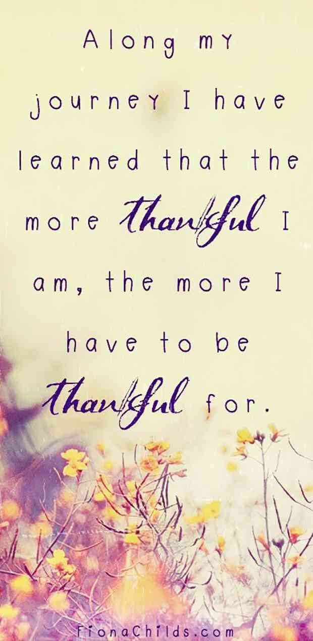Be Thankful Quotes Images