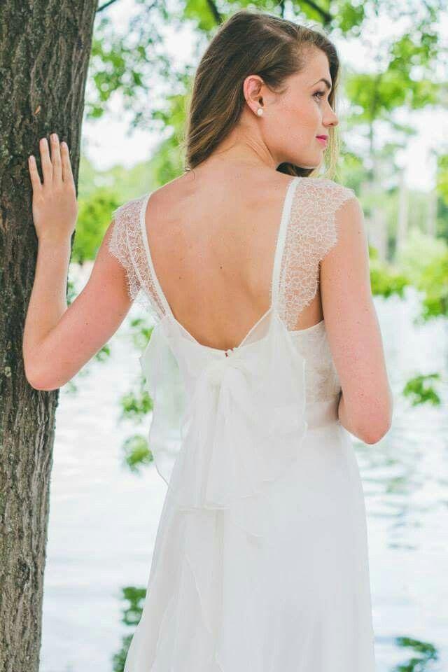 Collection 2016 Adeline Bauwin  #adelinebauwin #dentelle #lace #madeinfrance #faitmain #robedemariée #bride #bridetobe #dosnu
