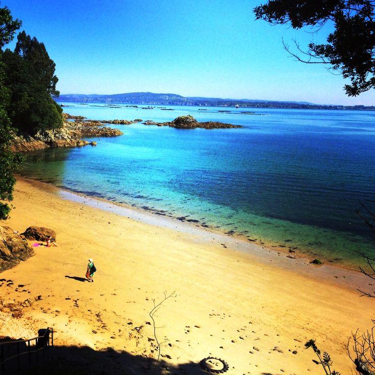 Playa de Morazón Sada A Coruña