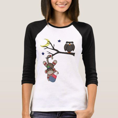 Retro Sock Monkey T-Shirt - tap, personalize, buy right now!