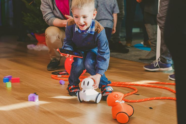 World's first educational robot that grows with your child!