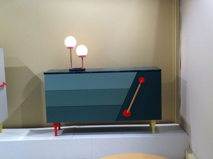 Sideboard created by SwedishNinja at the Milan Satellite exhibition 2014