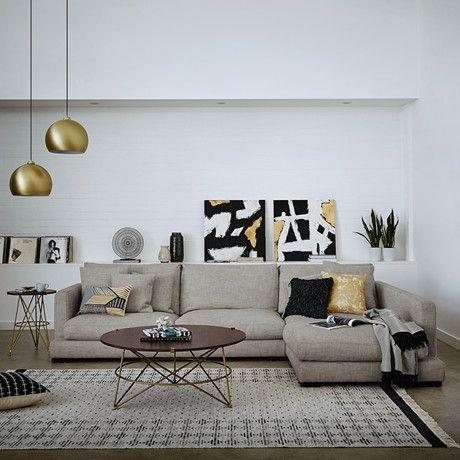 Shop The Look | Freedom Furniture And Homewares Hamilton Sofa