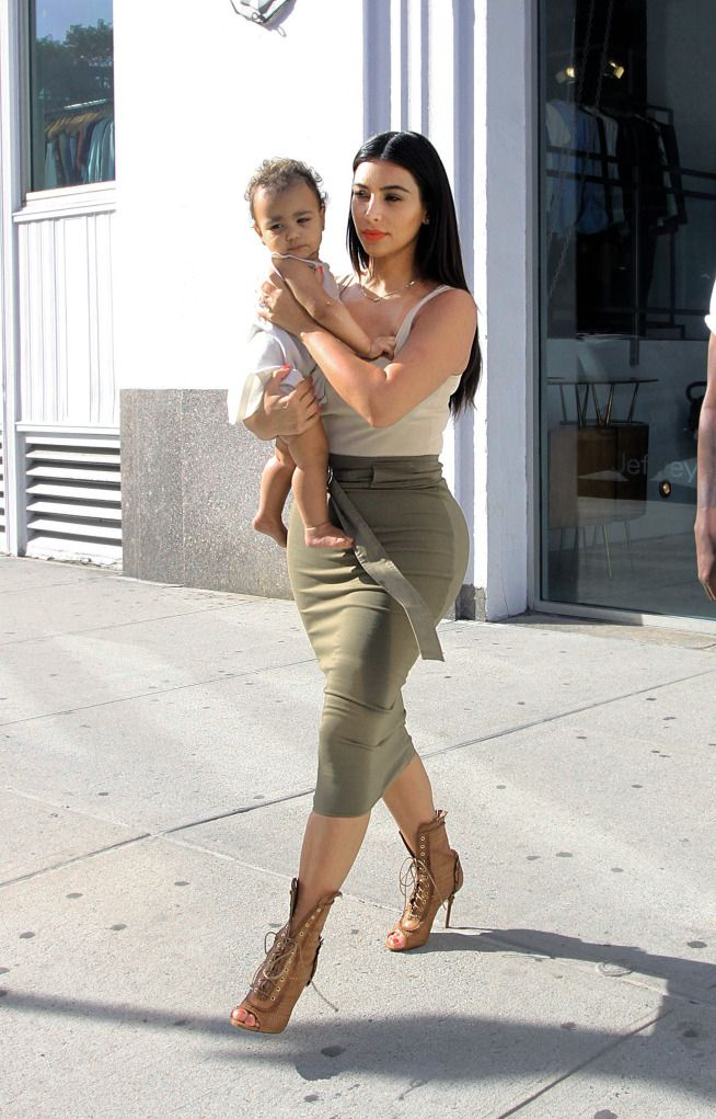 Kim K. West And North West