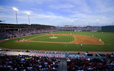 Baum Stadium-Home of Razorback Baseball
