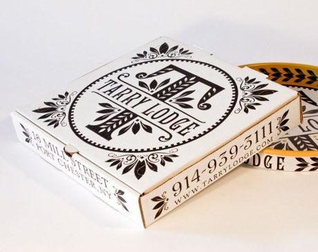 illustrated pizza packaging design - Google Search