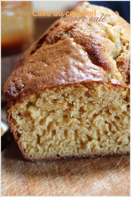 Cake au caramel beurre sal� de Laurent Mariotte