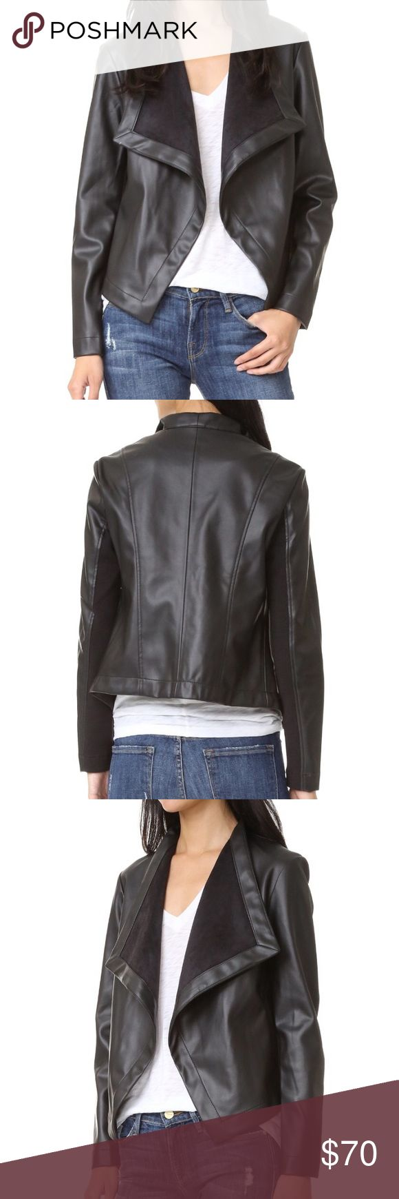BB Dakota vegan drape jacket NWT Please see image 5 for details BB Dakota Jackets & Coats