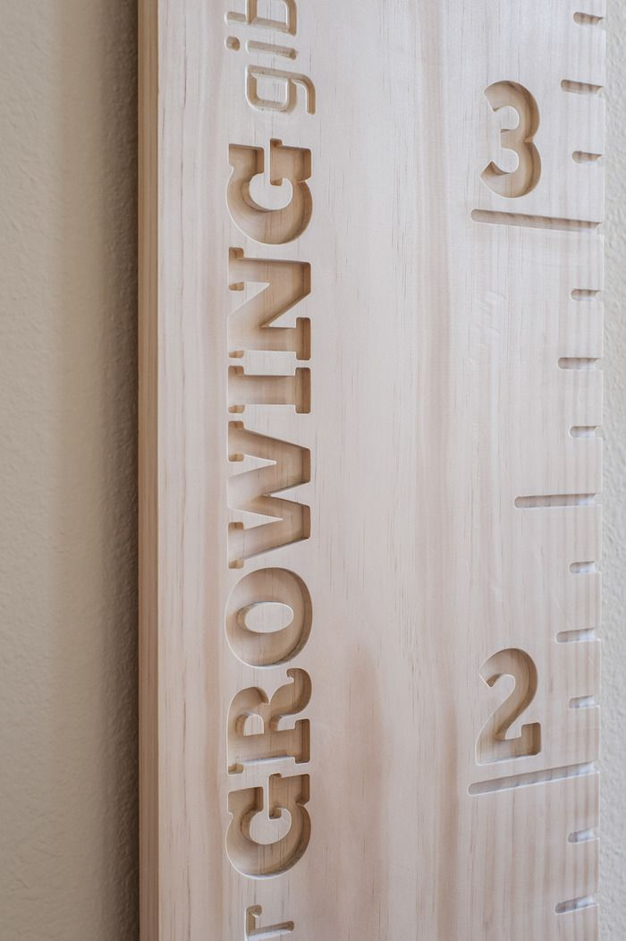 Awesome growth ruler, handmade, personalized. Made to last generations. Watch your kids grow!
