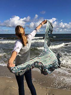 1831 best knitting scarf images on pinterest knitted scarves ravelry this is the sea pattern by katrin schubert fandeluxe Choice Image