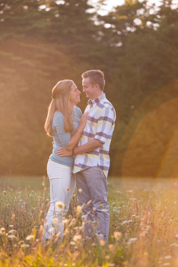 This Lakeside Engagement Session Will Make You Crave East Coast Travels