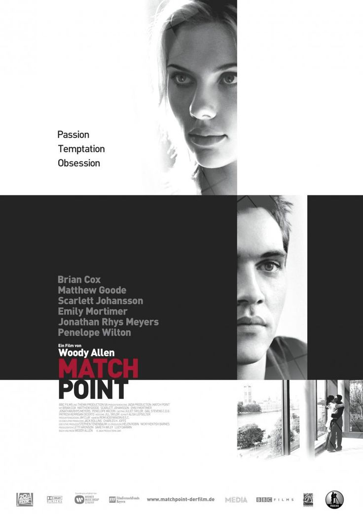 Match point [Vídeo-DVD] / BBC Films y Thema Production SA presentan una producción Jada ; escrita y dirigida por Woody Allen