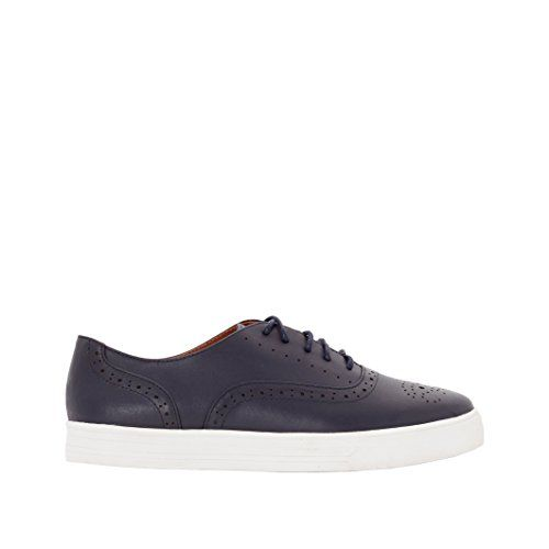 R Studio Womens Leather Trainers Blue Size 41 ** Details can be found by clicking on the image.