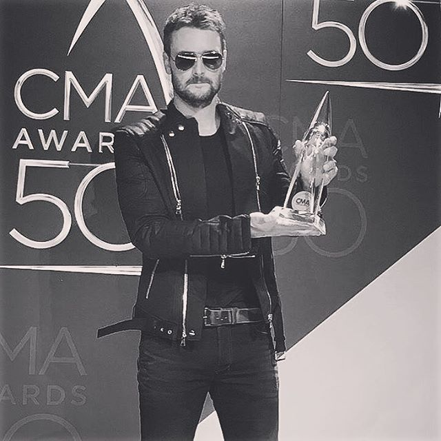 Congrats to Eric Church on CMA Album of the Year! We were so excited + honored to get to make him a custom Thread Co. tee for his performance.