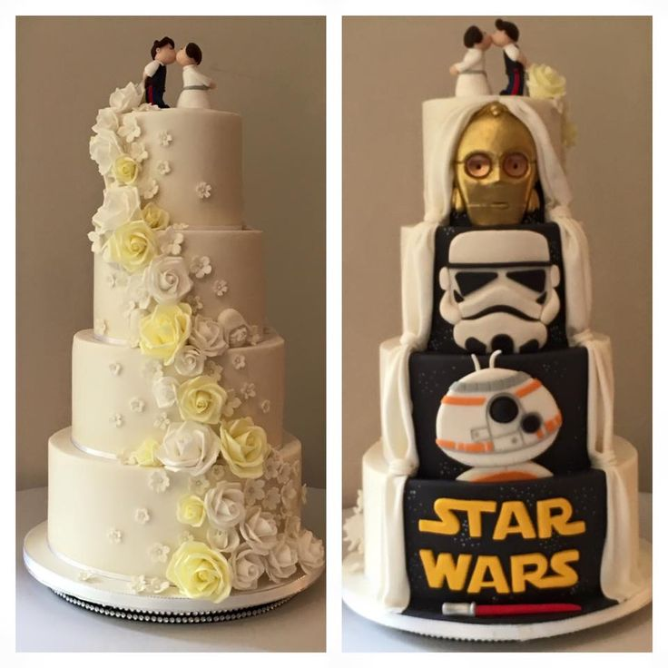 Not a fan of star wars more interested in the other side the flowers and the colours match my theme