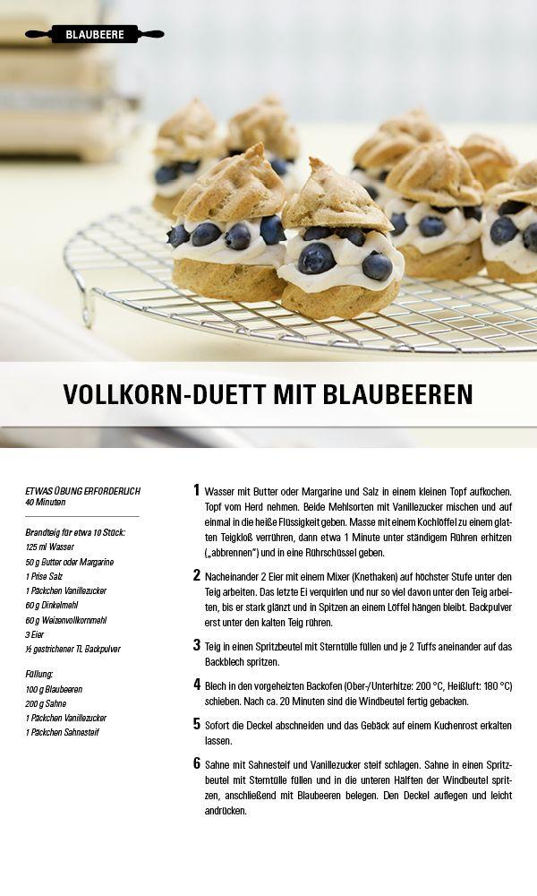 Rezept Vollkorn-Duett mit Blaubeeren. Besuche jetzt die Gewürzwelt von Juzo – Kompressionsstrümpfe für jeden Geschmack.