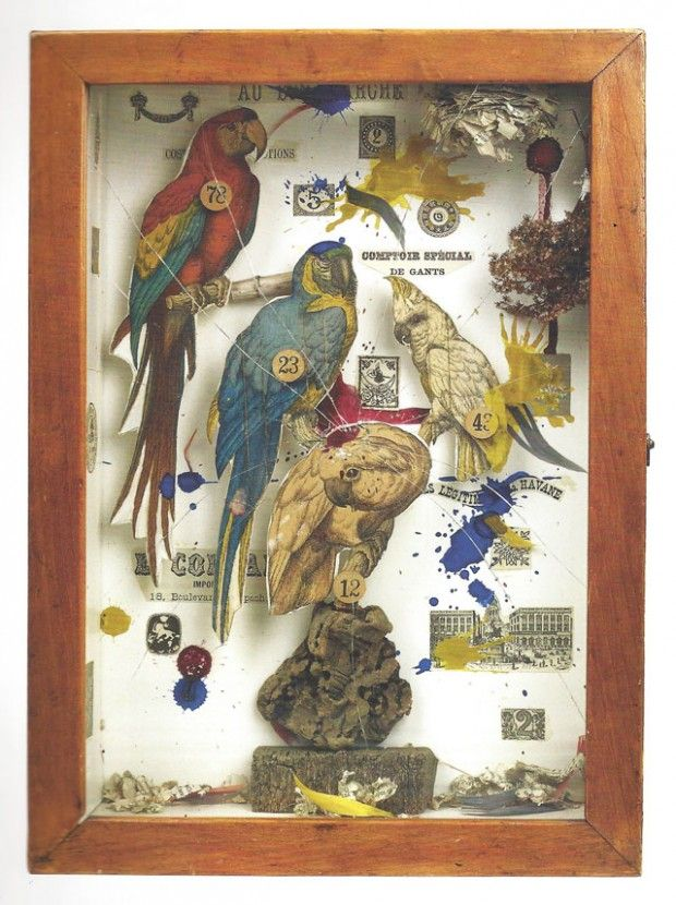 Artist Spotlight | Joseph Cornell Boxes - ...love Maegan                                                                                                                                                                                 More