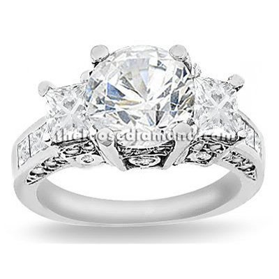 2.50 carat Round Cut Certified Diamond 3 Three-Stone Designer Anniversary Engagement Ring in 18k Gold Center 0.70 Carat D-E VS The Loose Diamond, http://www.amazon.com/dp/B006H9C6GE/ref=cm_sw_r_pi_dp_Fvdhqb136GEGP: 2 00 Carat, Cut Certified, Center 2 00, Carat D E, Diamonds Rings, Gold Center, Anniversaries Engagement, 4 00 Carat, Engagement Rings