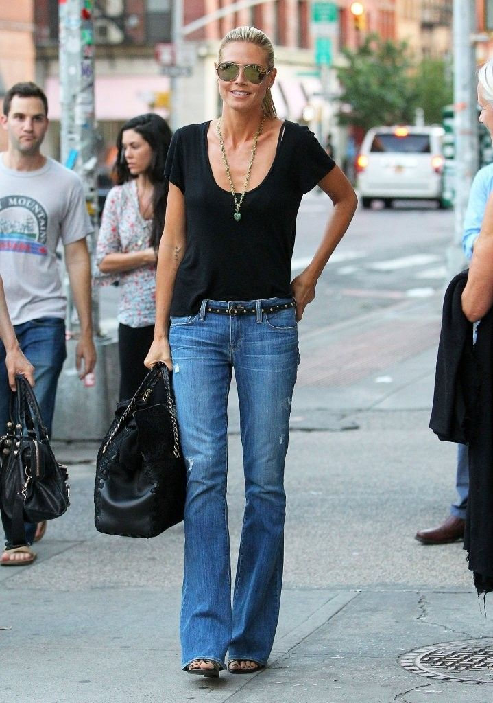 Heidi Klum Photos: Heidi Klum Out and About in NYC