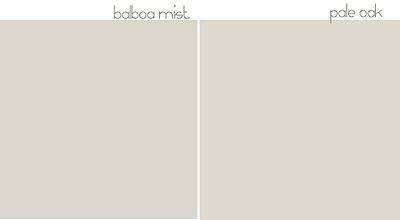 balboa mist & pale oak | color & paint inspirations | Pinterest ...